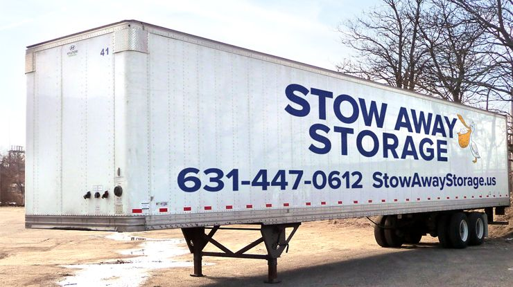 On-site Storage Trailer