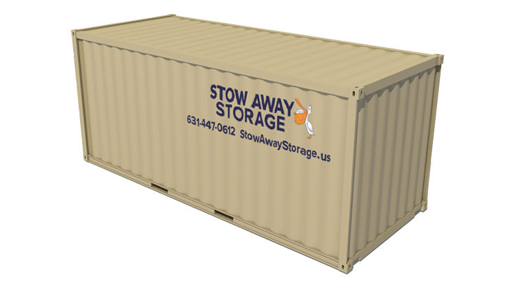 8′×20′ containers
